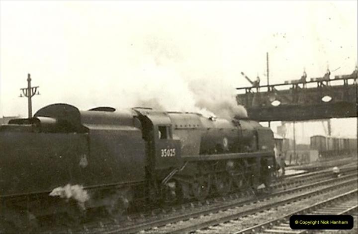 1955 to 1959 British Railways in Black & White.  (11)0011