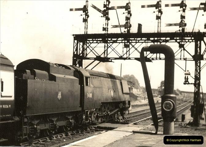 1955 to 1959 British Railways in Black & White.  (12)0012