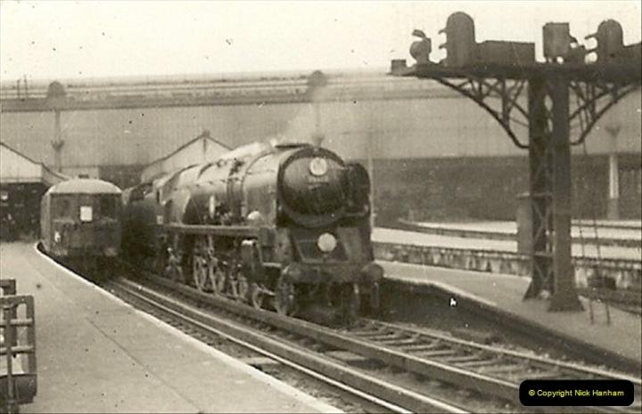 1955 to 1959 British Railways in Black & White.  (13)0013
