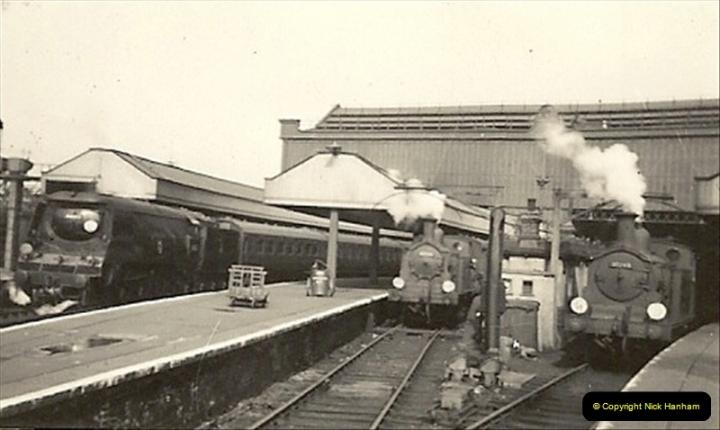 1955 to 1959 British Railways in Black & White.  (14)0014