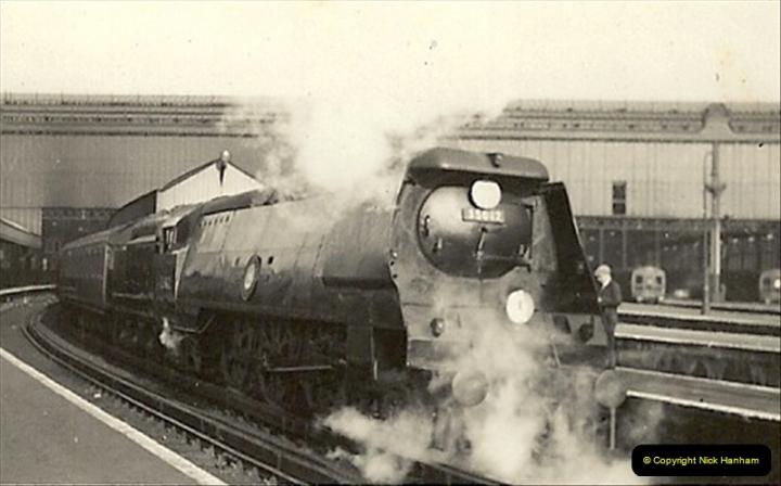 1955 to 1959 British Railways in Black & White.  (15)0015