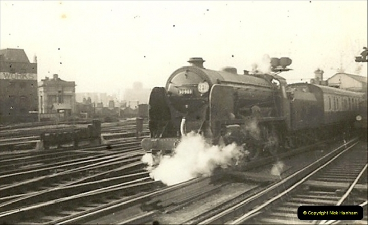 1955 to 1959 British Railways in Black & White.  (16)0016
