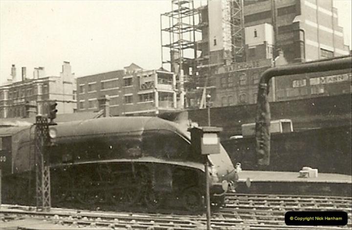 1955 to 1959 British Railways in Black & White.  (17)0017
