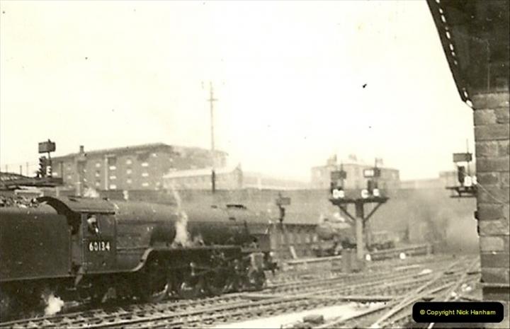 1955 to 1959 British Railways in Black & White.  (19)0019