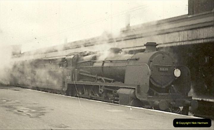 1955 to 1959 British Railways in Black & White.  (2)0002