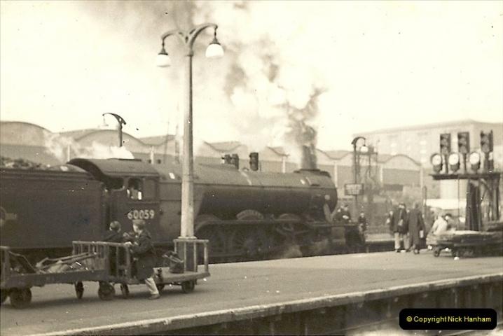 1955 to 1959 British Railways in Black & White.  (20)0020