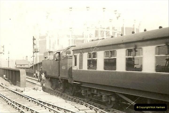1955 to 1959 British Railways in Black & White.  (22)0022
