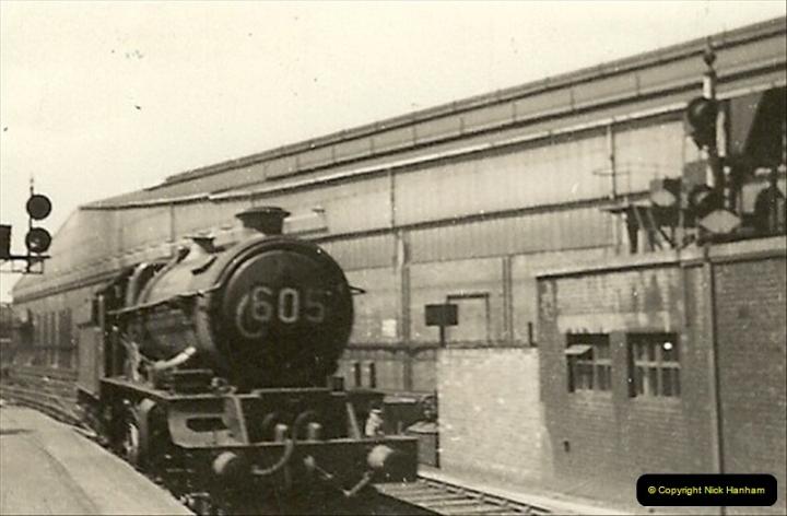 1955 to 1959 British Railways in Black & White.  (23)0023