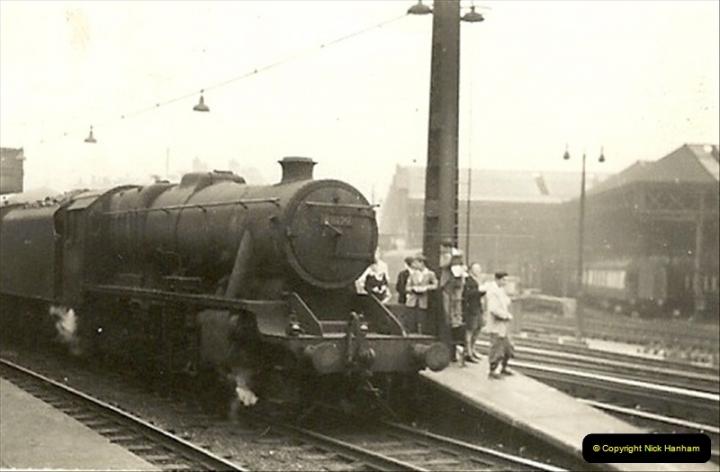 1955 to 1959 British Railways in Black & White.  (26)0026