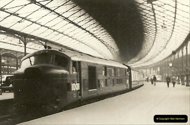 1955 to 1959 British Railways in Black & White.  (27)0027