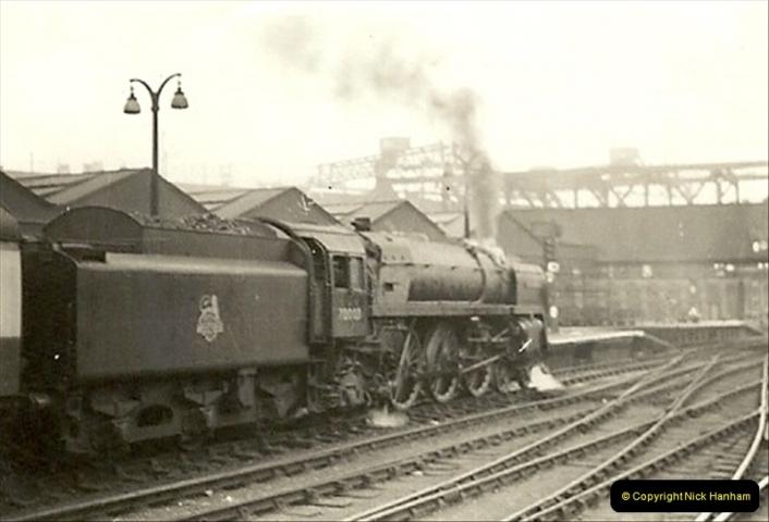 1955 to 1959 British Railways in Black & White.  (28)0028