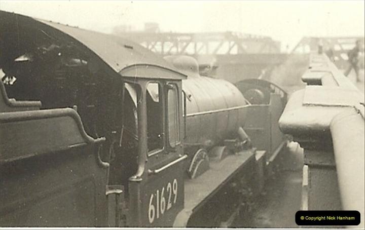 1955 to 1959 British Railways in Black & White.  (29)0029