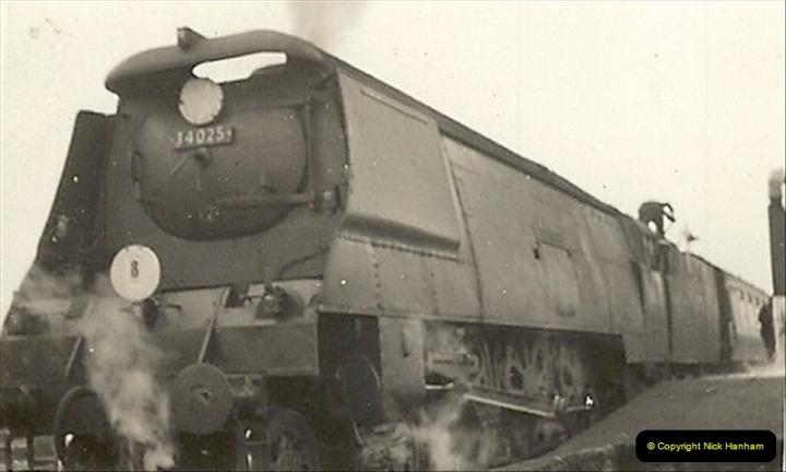1955 to 1959 British Railways in Black & White.  (3)0003