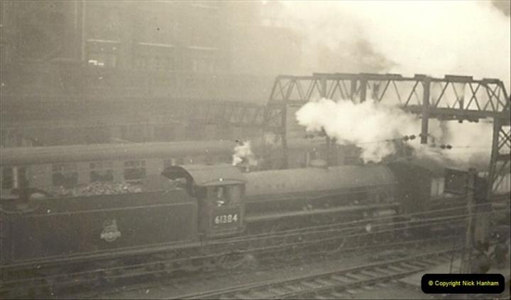 1955 to 1959 British Railways in Black & White.  (30)0030