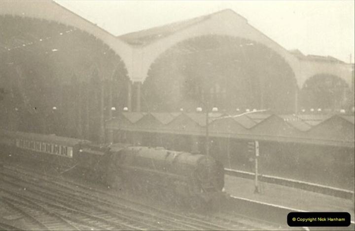 1955 to 1959 British Railways in Black & White.  (31)0031