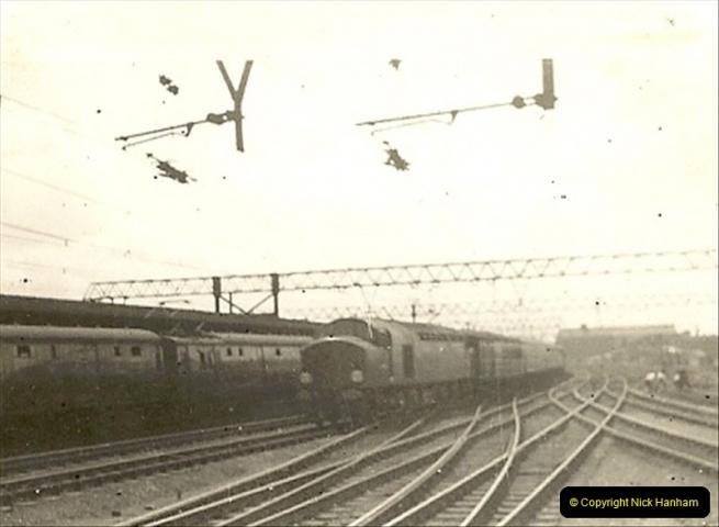 1955 to 1959 British Railways in Black & White.  (32)0032