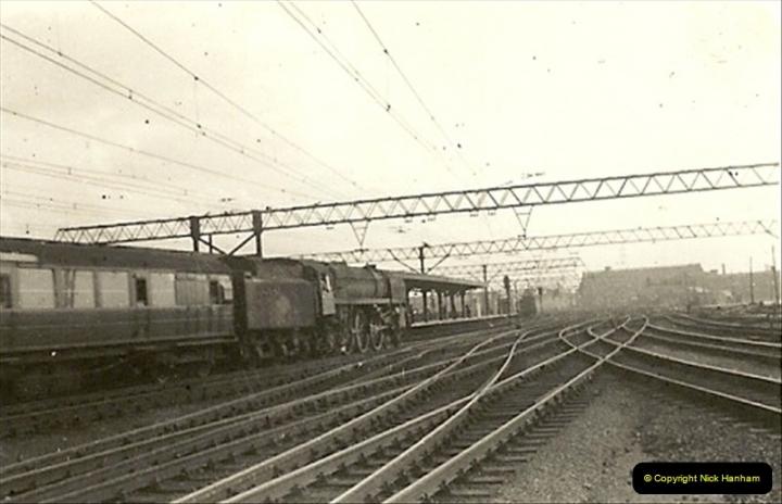 1955 to 1959 British Railways in Black & White.  (33)0033