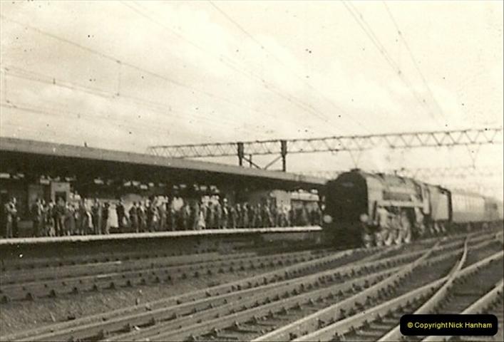 1955 to 1959 British Railways in Black & White.  (34)0034