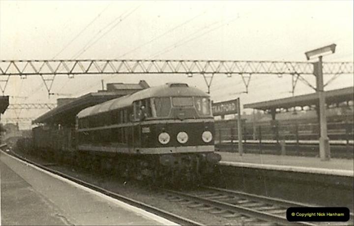 1955 to 1959 British Railways in Black & White.  (35)0035