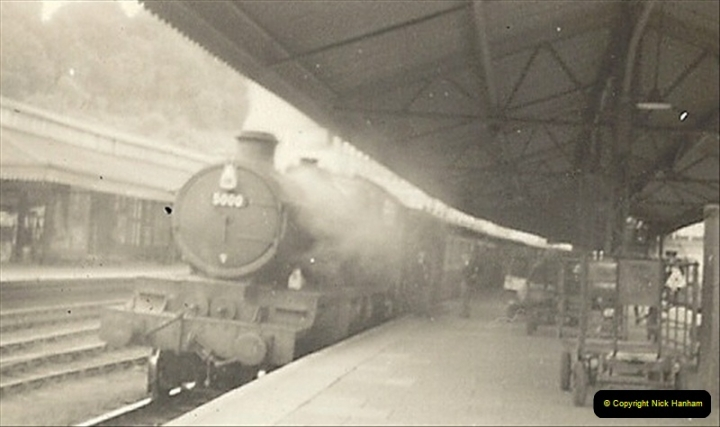 1955 to 1959 British Railways in Black & White.  (37)0037