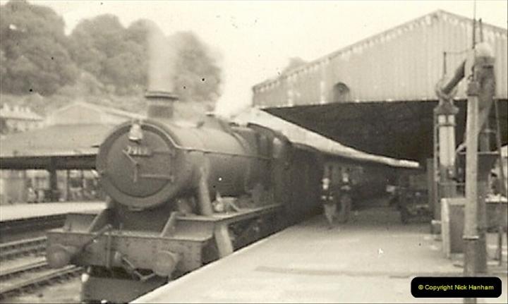 1955 to 1959 British Railways in Black & White.  (38)0038