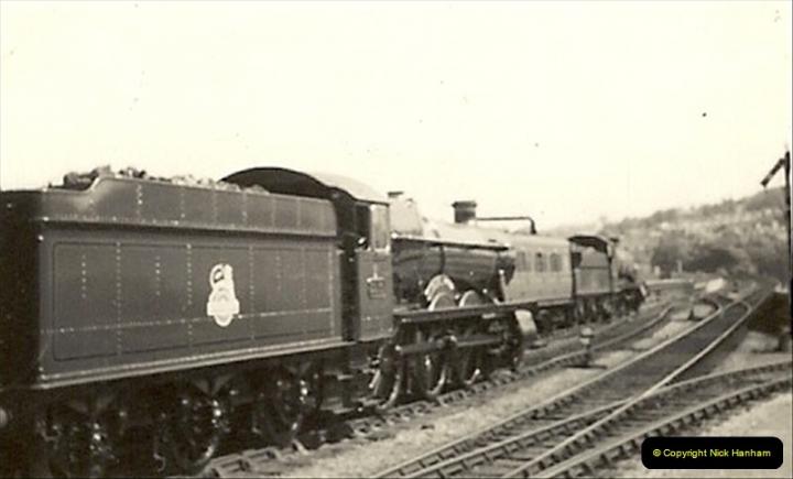 1955 to 1959 British Railways in Black & White.  (39)0039