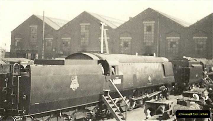 1955 to 1959 British Railways in Black & White.  (4)0004