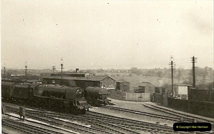 1955 to 1959 British Railways in Black & White.  (41)0041