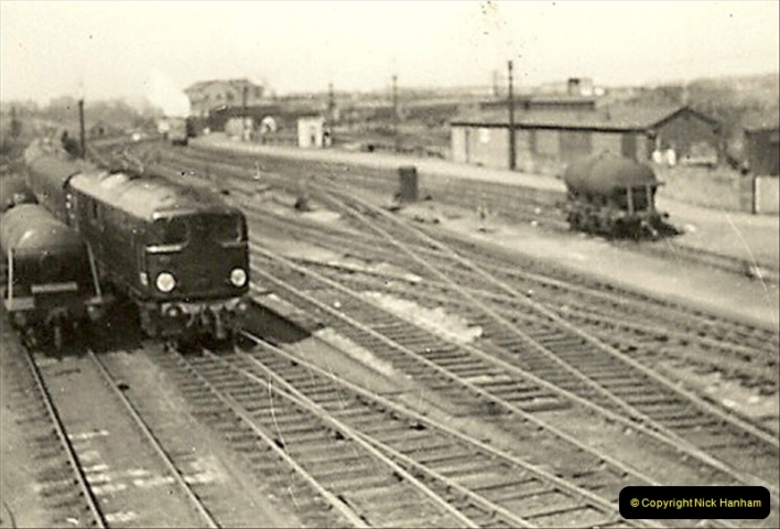 1955 to 1959 British Railways in Black & White.  (42)0042