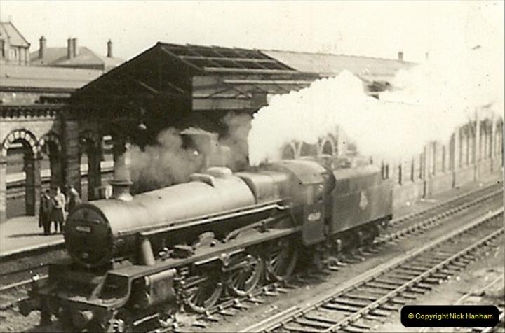 1955 to 1959 British Railways in Black & White.  (43)0043