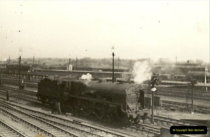 1955 to 1959 British Railways in Black & White.  (44)0044