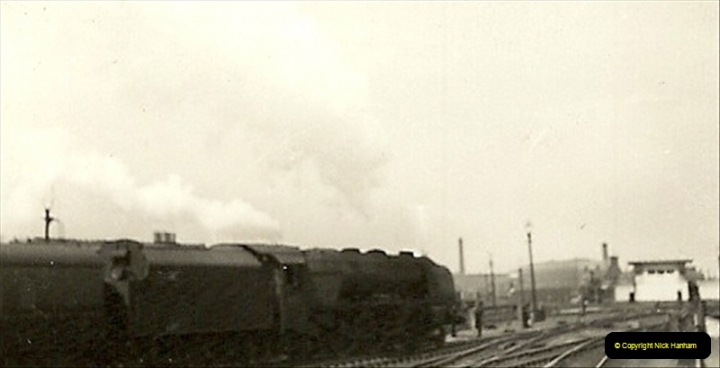 1955 to 1959 British Railways in Black & White.  (45)0045
