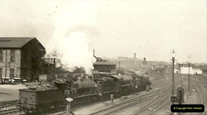 1955 to 1959 British Railways in Black & White.  (47)0047