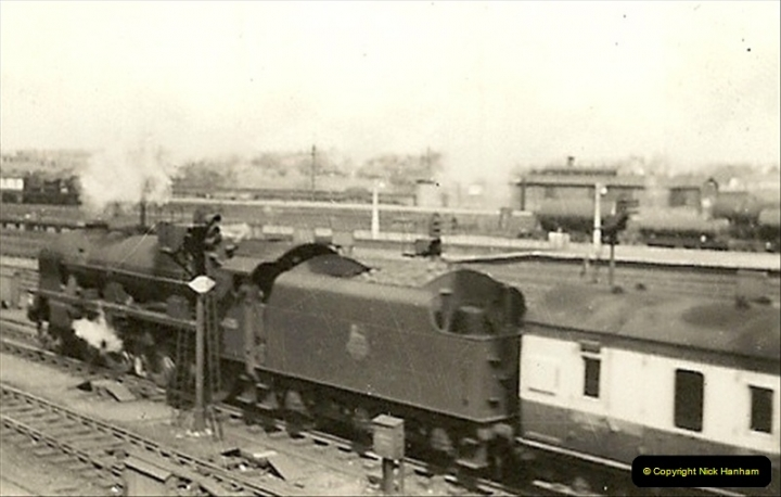 1955 to 1959 British Railways in Black & White.  (48)0048
