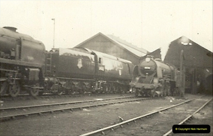 1955 to 1959 British Railways in Black & White.  (5)0005