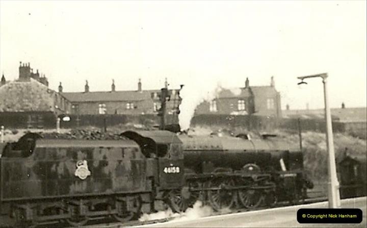 1955 to 1959 British Railways in Black & White.  (50)0050