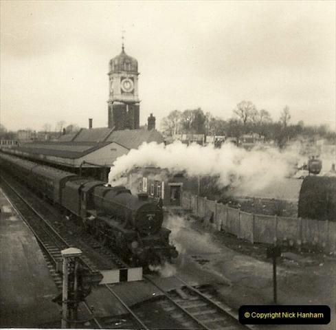 1955 to 1959 British Railways in Black & White.  (51)0051