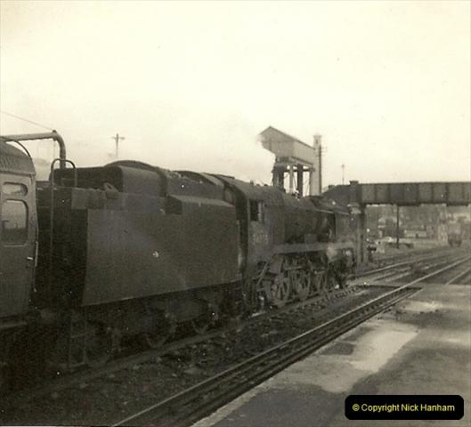 1955 to 1959 British Railways in Black & White.  (52)0052