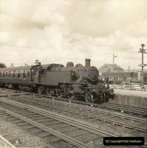 1955 to 1959 British Railways in Black & White.  (53)0053