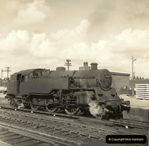 1955 to 1959 British Railways in Black & White.  (54)0054