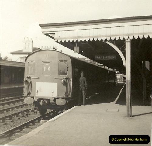 1955 to 1959 British Railways in Black & White.  (55)0055