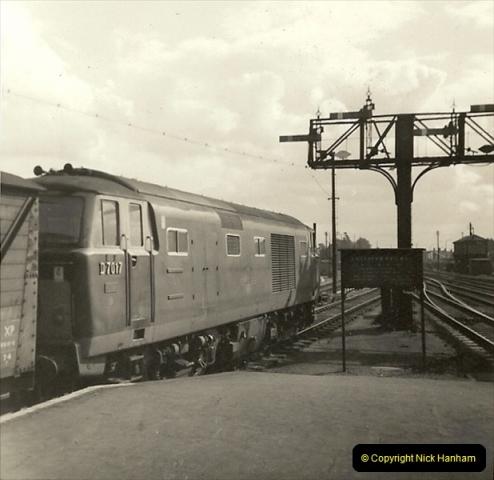 1955 to 1959 British Railways in Black & White.  (56)0056