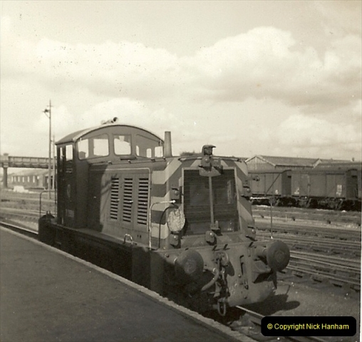 1955 to 1959 British Railways in Black & White.  (57)0057