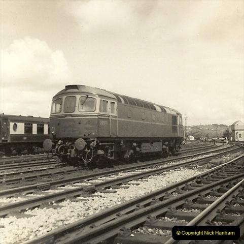 1955 to 1959 British Railways in Black & White.  (58)0058