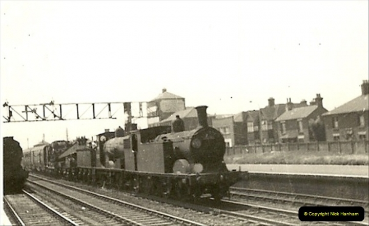 1955 to 1959 British Railways in Black & White.  (6)0006