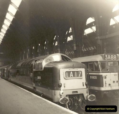 1955 to 1959 British Railways in Black & White.  (60)0060