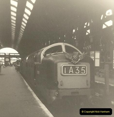 1955 to 1959 British Railways in Black & White.  (61)0061