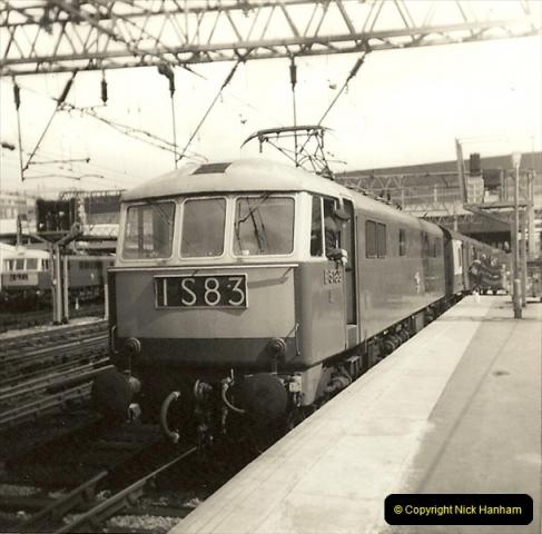 1955 to 1959 British Railways in Black & White.  (62)0062
