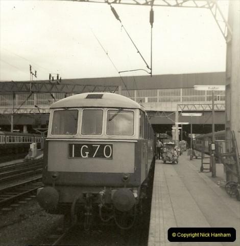 1955 to 1959 British Railways in Black & White.  (63)0063