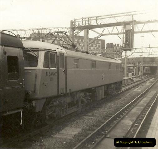 1955 to 1959 British Railways in Black & White.  (64)0064